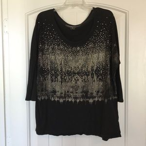 Silver Accented Blouse